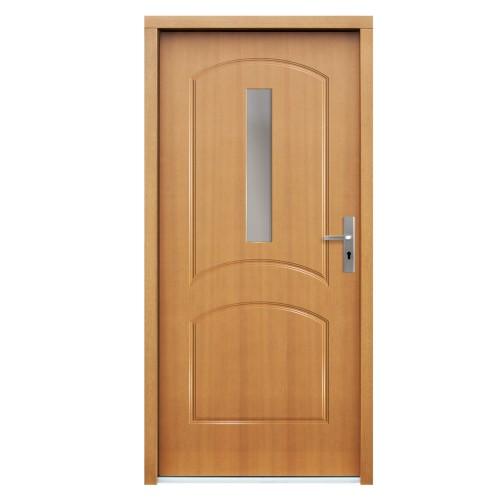 Medinės lauko durys Clasic P114