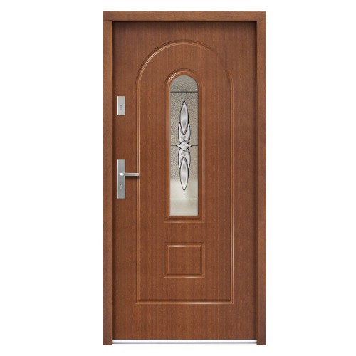Medinės lauko durys Clasic P115