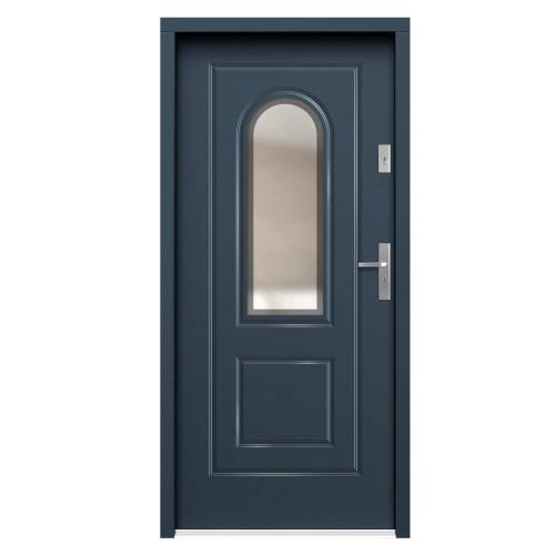 Medinės lauko durys Clasic P116