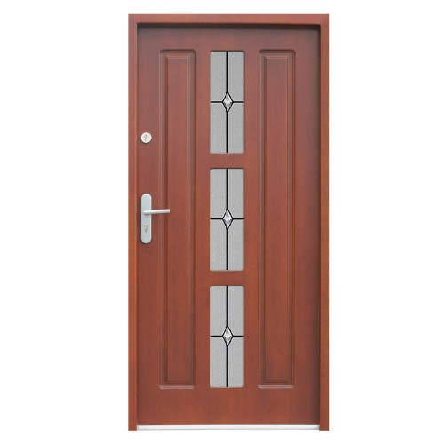 Medinės lauko durys Clasic P13