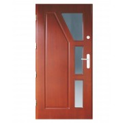 Medinės lauko durys Clasic P14