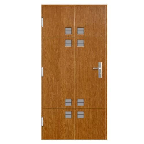 Medinės lauko durys Clasic P146