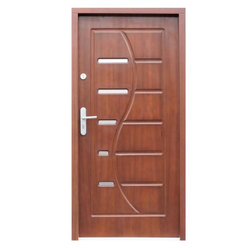 Medinės lauko durys Modern P24
