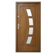 Medinės lauko durys Modern P28