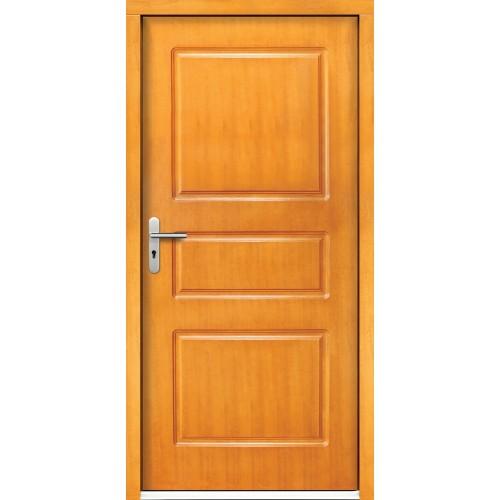 Medinės lauko durys Clasic P1