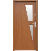 Medinės lauko durys Modern P10
