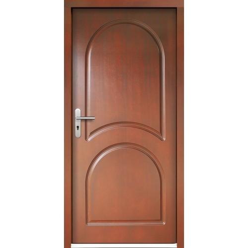 Medinės lauko durys Clasic P11