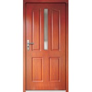 Medinės lauko durys Clasic P12