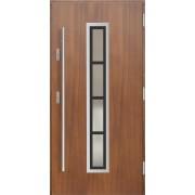 Medinės lauko durys Inox P130