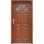 Medinės lauko durys Clasic P16