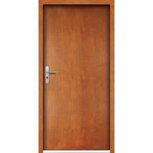 Medinės lauko durys Clasic P18