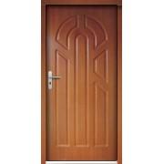 Medinės lauko durys Clasic P2