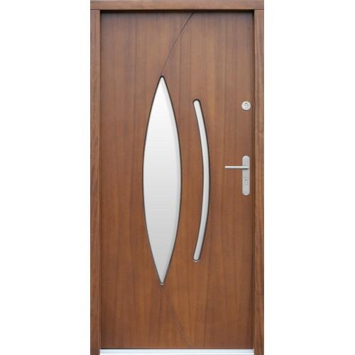 Medinės lauko durys Modern P20