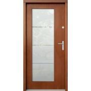 Medinės lauko durys Modern P27
