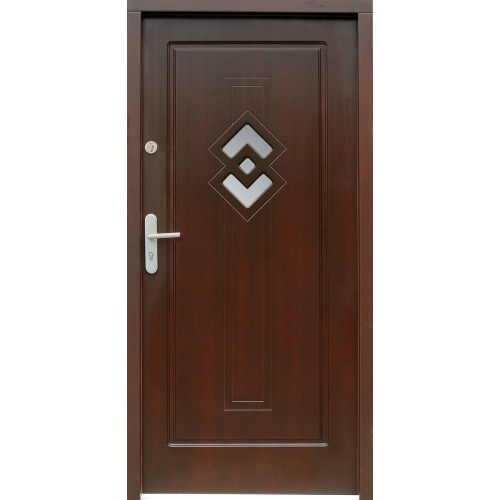 Medinės lauko durys Clasic P29