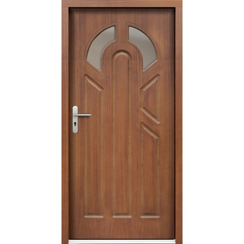 Medinės lauko durys Clasic P3