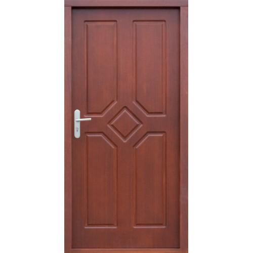 Medinės lauko durys Clasic P35