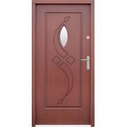 Medinės lauko durys Clasic P39