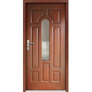 Medinės lauko durys Clasic P4