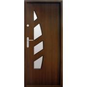 Medinės lauko durys Modern P47