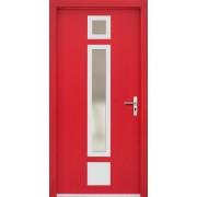 Medinės lauko durys Inox P48