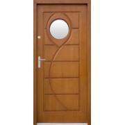 Medinės lauko durys Clasic P51