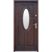 Medinės lauko durys Clasic P52