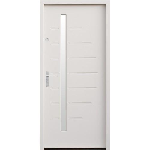 Medinės lauko durys Modern P53