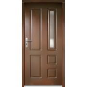 Medinės lauko durys Clasic P6