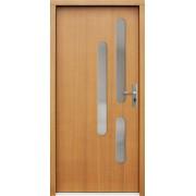 Medinės lauko durys Modern P61