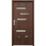 Medinės lauko durys Modern P62