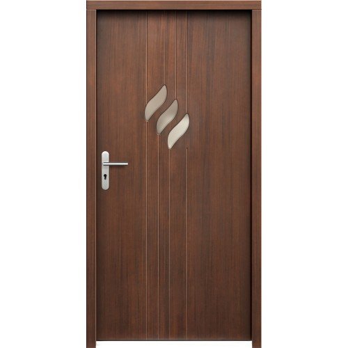 Medinės lauko durys Modern P63