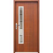 Medinės lauko durys Inox P66