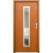Medinės lauko durys Inox P70