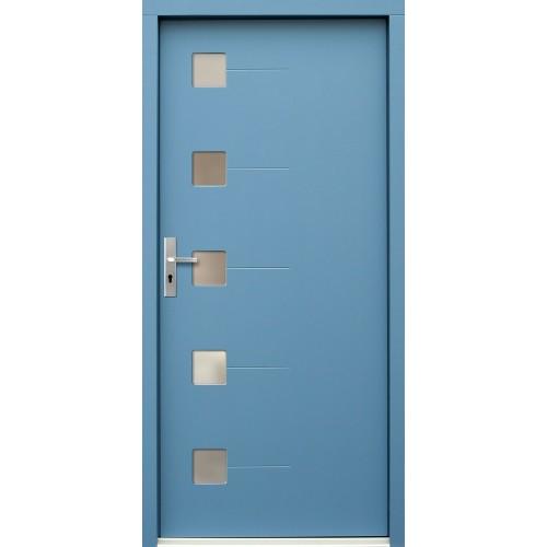 Medinės lauko durys Modern P71