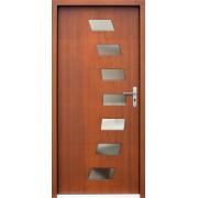 Medinės lauko durys Modern P72