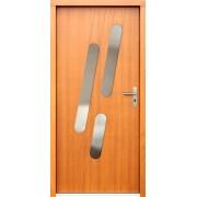 Medinės lauko durys Modern P76