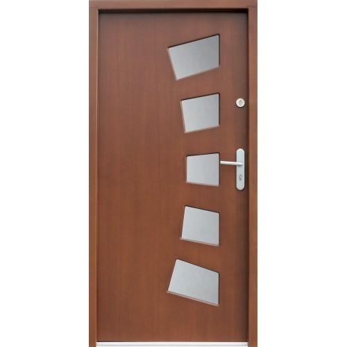 Medinės lauko durys Modern P8