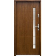 Medinės lauko durys Modern P83