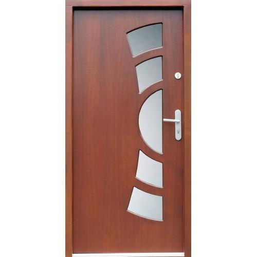 Medinės lauko durys Modern P9