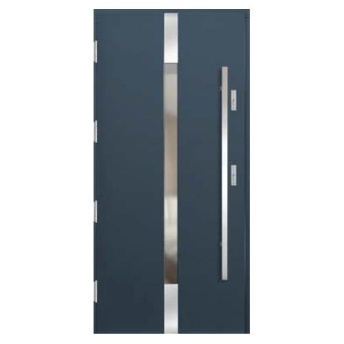 Medinės lauko durys Inox P150