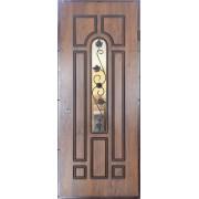 Lauko durys MAGDA (ARMA) T2-318 su stiklu, kaustytos