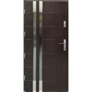 Lauko durys P101 riešuto spalvos 102-208.2 (90), dešinės