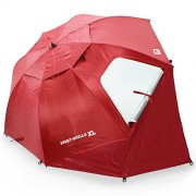 Paplūdimio skėtis SPORT-BRELLA XL, raudonas