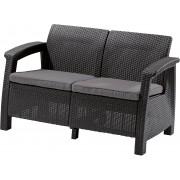 Dvivietė KETER sofa Corfu Love Seat