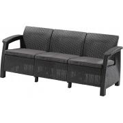 Trivietė KETER sofa Corfu Max Love Seat
