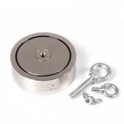 Magnetinis ieškiklis 400 kg x 2 Black Magnet