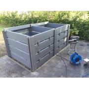 Komposto dėžė ECOBOX2, dviguba