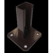 Stulpo plokštė, ruda, 150 mm