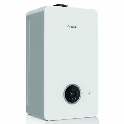 Kondensacinis dujinis katilas Bosch Condens, GC 2300iW, 24/25C, momentinis vandens ruošimas, baltas